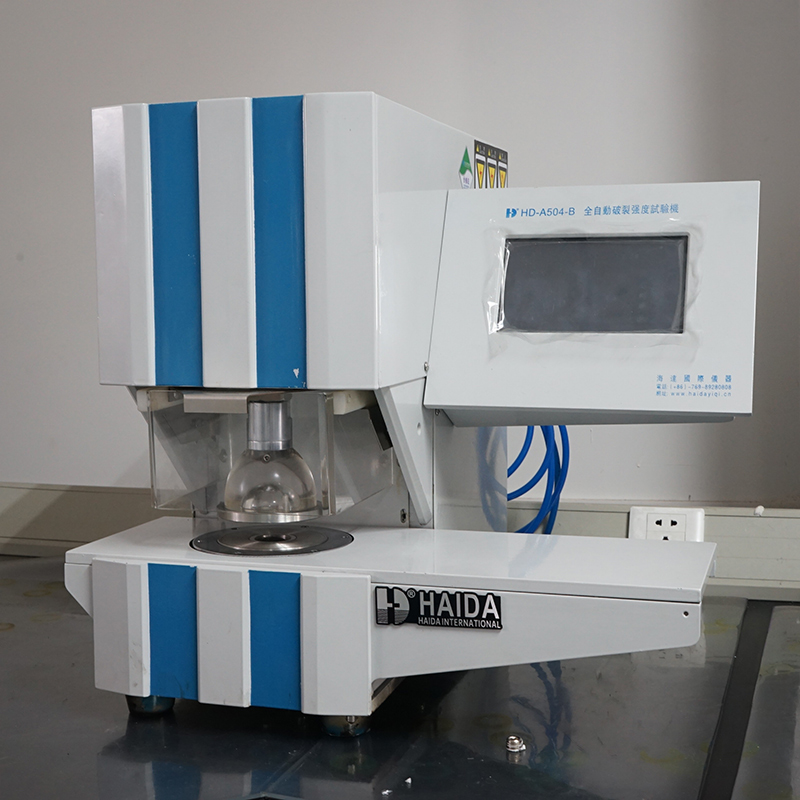 Paperboard Bursting Strength Test Machine
