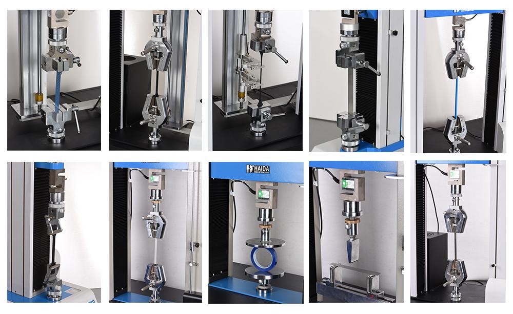 tensile test machine fixture